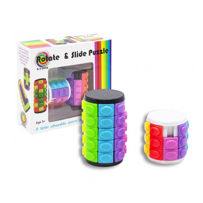 """Цилиндр-головоломка """"Rotate  Slide Puzzle"""" 2в1 30663 купить в магазине """"Пустун"""""""