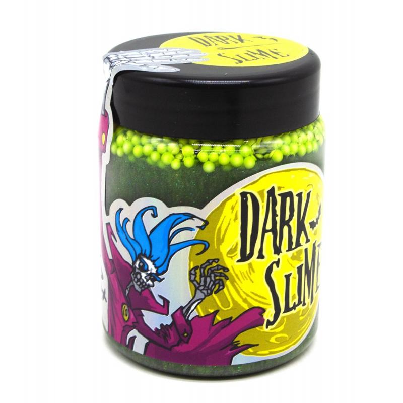 """Слайм """"Dark slime"""" зеленый 71831 купить в магазине """"Пустун"""""""