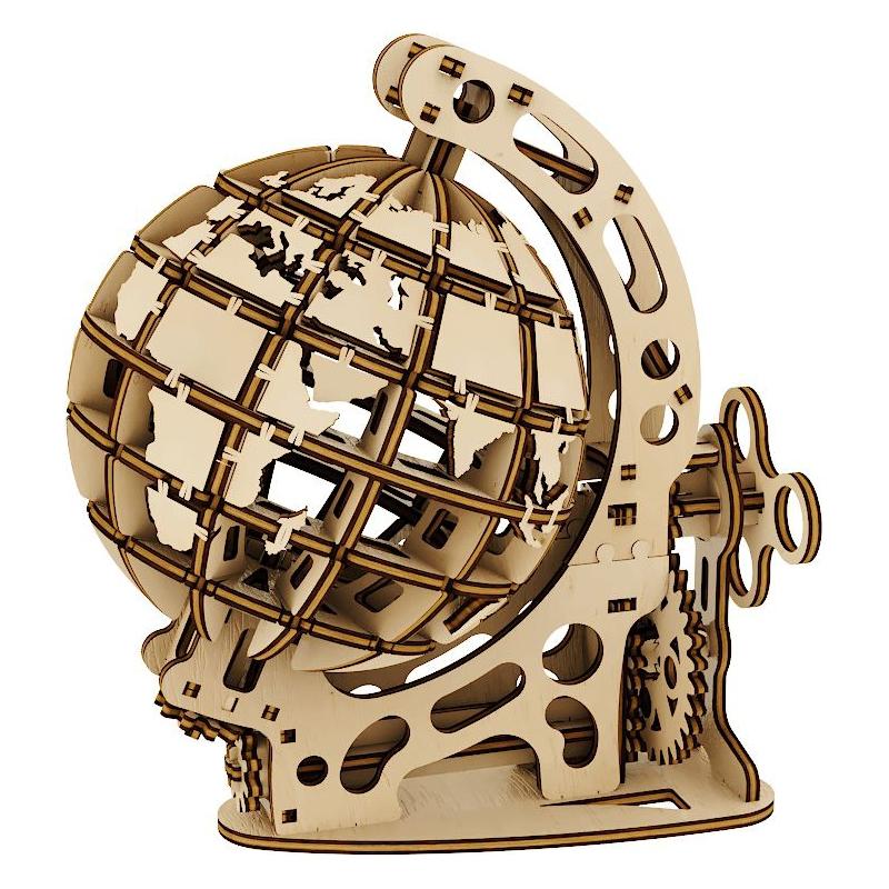"""Деревянный конструктор """"Globe S"""", 125 эл 10203 купить в магазине """"Пустун"""""""