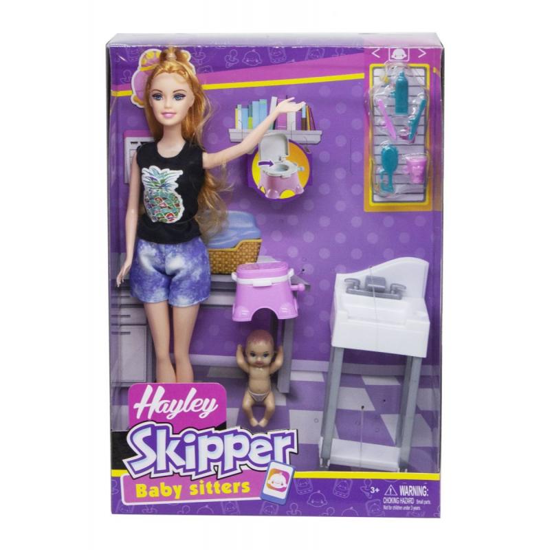 """Кукла """"Hailey skipper"""", в футболке и шортах HB034-1 купить в магазине """"Пустун"""""""