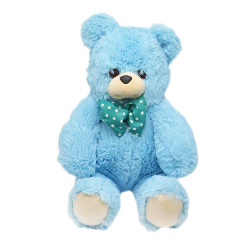 """Мягкая игрушка Медвежонок 84 см. голубого цвета купить в магазине """"Пустун"""""""