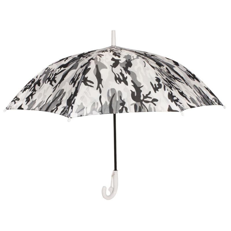 """Зонтик детский """"Камуфляж"""", светло-серый д799/0 купить в магазине """"Пустун"""""""