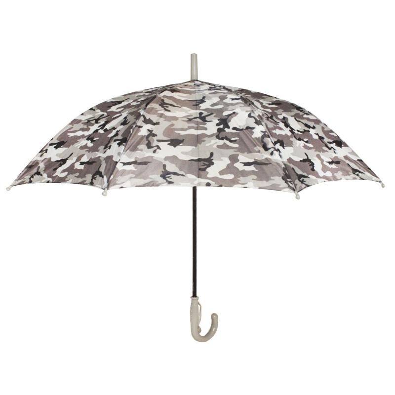 """Зонтик детский """"Камуфляж"""", серый д799/0 купить в магазине """"Пустун"""""""