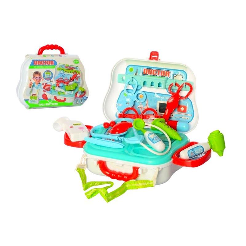 """Набор доктора """"Medical Equipment"""" в чемодане 688-61A купить в магазине """"Пустун"""""""