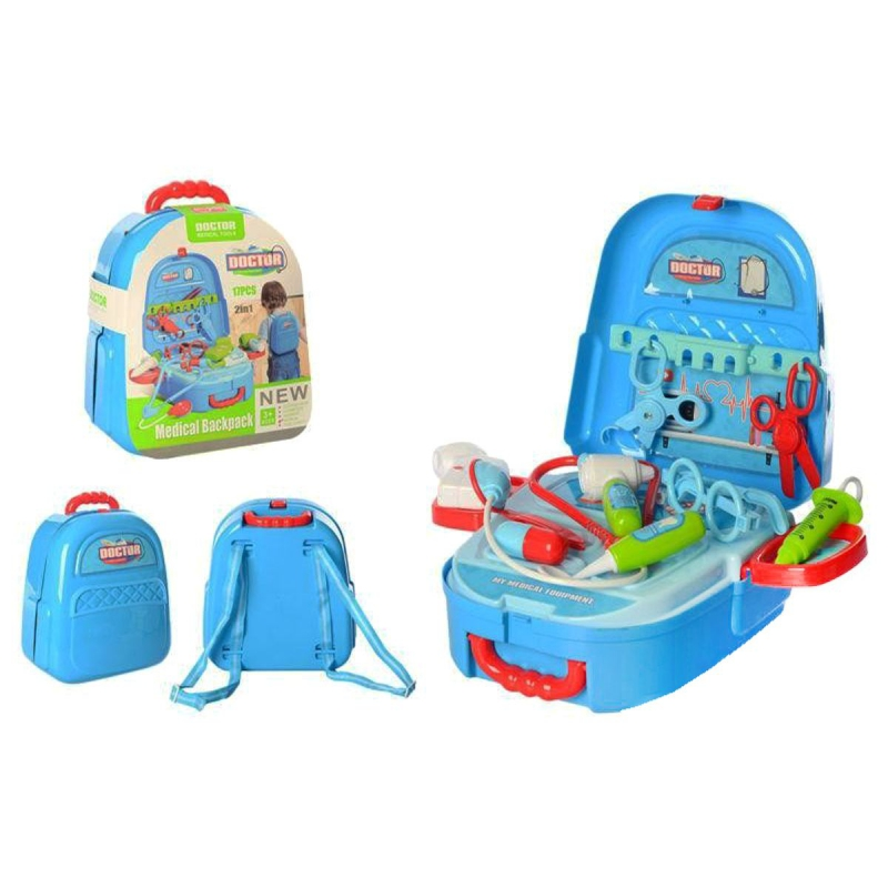 """Набор доктора """"Medical Backpack"""" в чемодане 688-81A купить в магазине """"Пустун"""""""