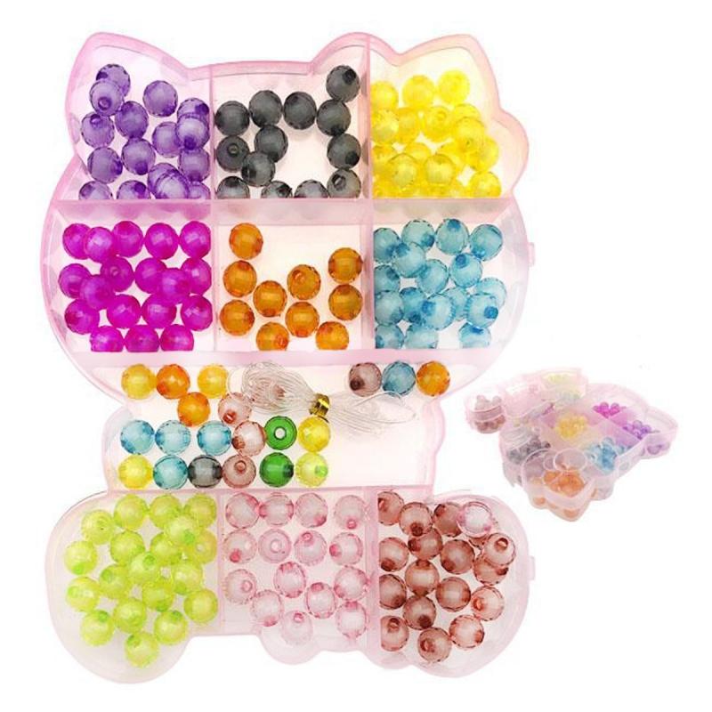 """Набор блестящих бусинок """"Hello Kitty"""" PR1682 купить в магазине """"Пустун"""""""