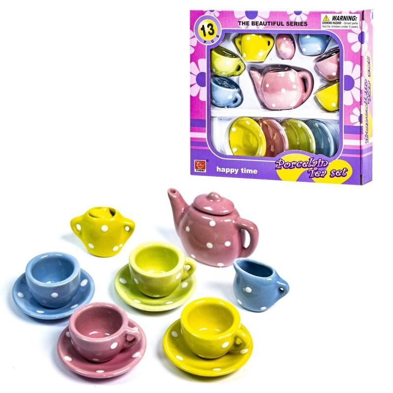 """Набор фарфоровой посудки """"Чайный сервиз"""" D501 купить в магазине """"Пустун"""""""