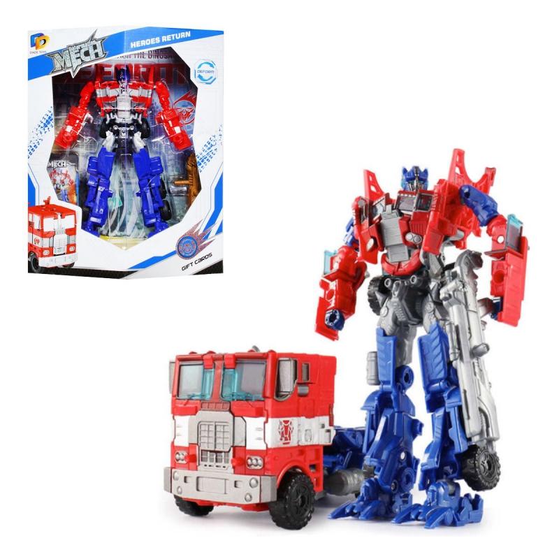 """Трансформер робот """"Deformation Mech: Пожарная машина"""" D622-E268 купить в магазине """"Пустун"""""""