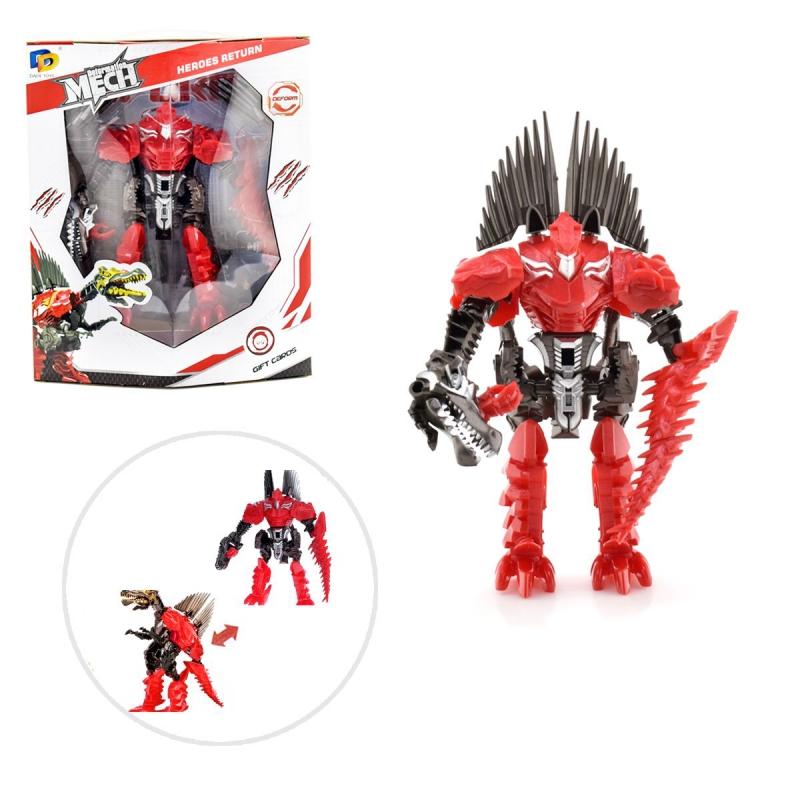 """Трансформер робот """"Deformation Mech: Спинозавр"""" D622-E278 купить в магазине """"Пустун"""""""