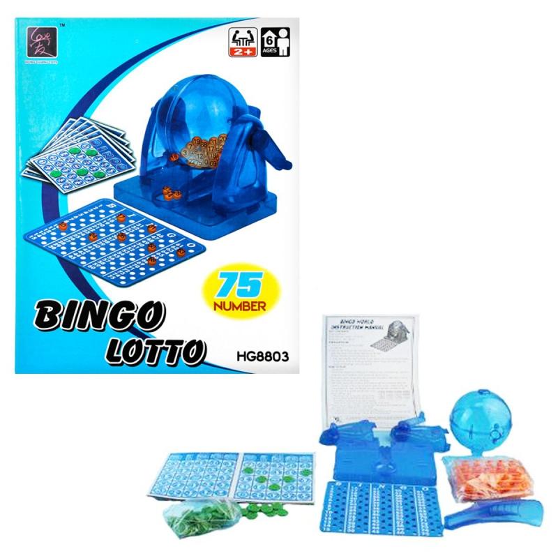 """Игра детская настольная """"Лото Бинго"""" HG8803A купить в магазине """"Пустун"""""""