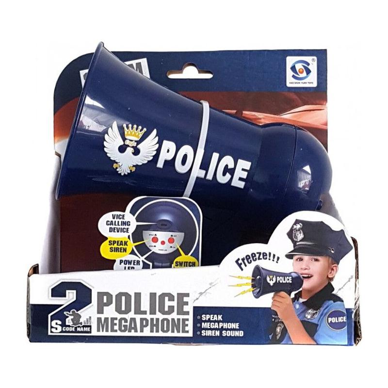 """Игрушка """"Полицейский мегафон"""" HSY-089 купить в магазине """"Пустун"""""""