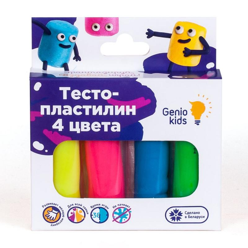 """Тесто для лепки, 4 цвета TA1082 купить в магазине """"Пустун"""""""