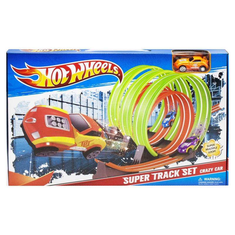 """Трек """"Hot Wheels: Multiple Loop"""" 8804 купить в магазине """"Пустун"""""""