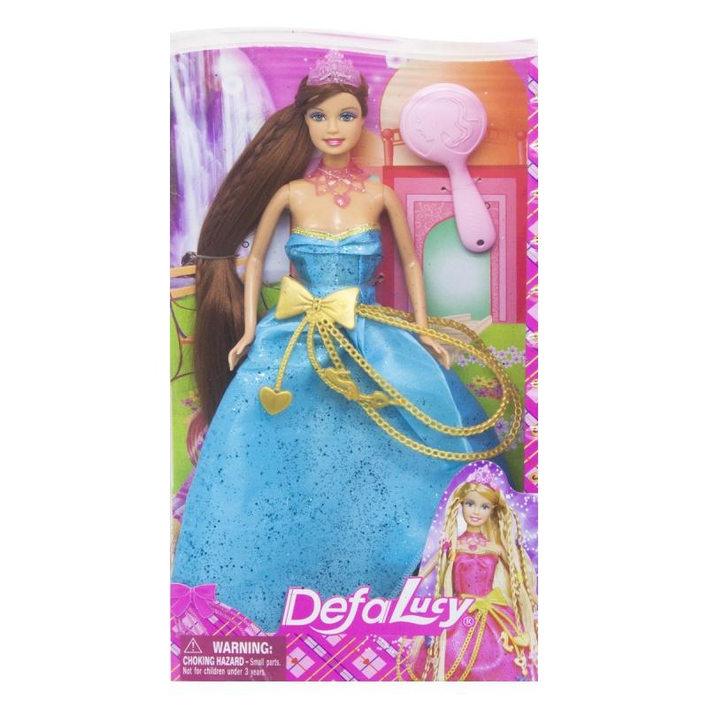 """Кукла Defa: принцесса в голубом 8195 купить в магазине """"Пустун"""""""