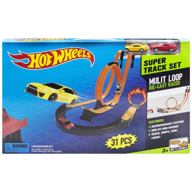 """Трек """"Hot Wheels: Super Track Set"""", 31 деталь 8825 купить в магазине """"Пустун"""""""