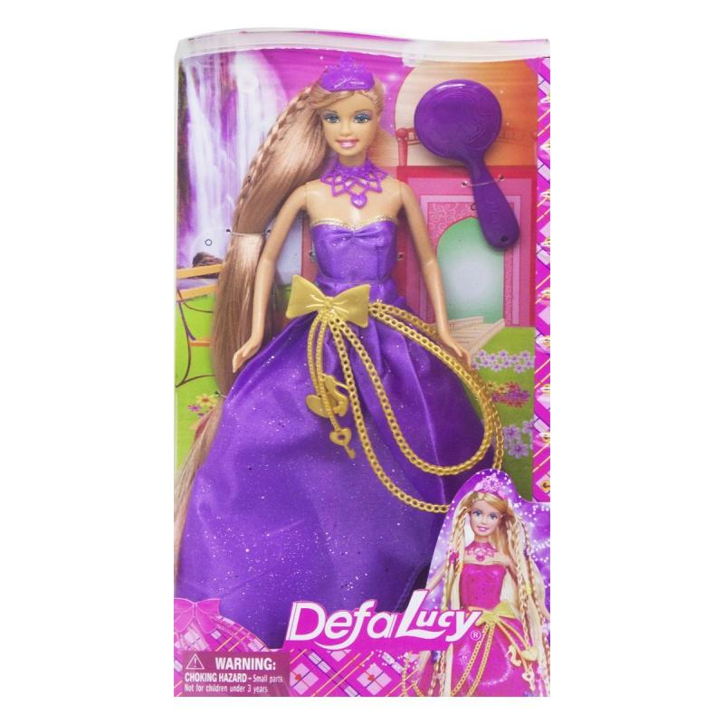 """Кукла Defa: принцесса в фиолетовом 8195 купить в магазине """"Пустун"""""""