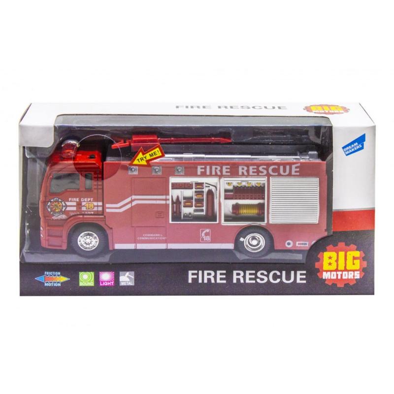 """Пожарная машинка """"Fire Rescue"""", инерционная JL81016 купить в магазине """"Пустун"""""""