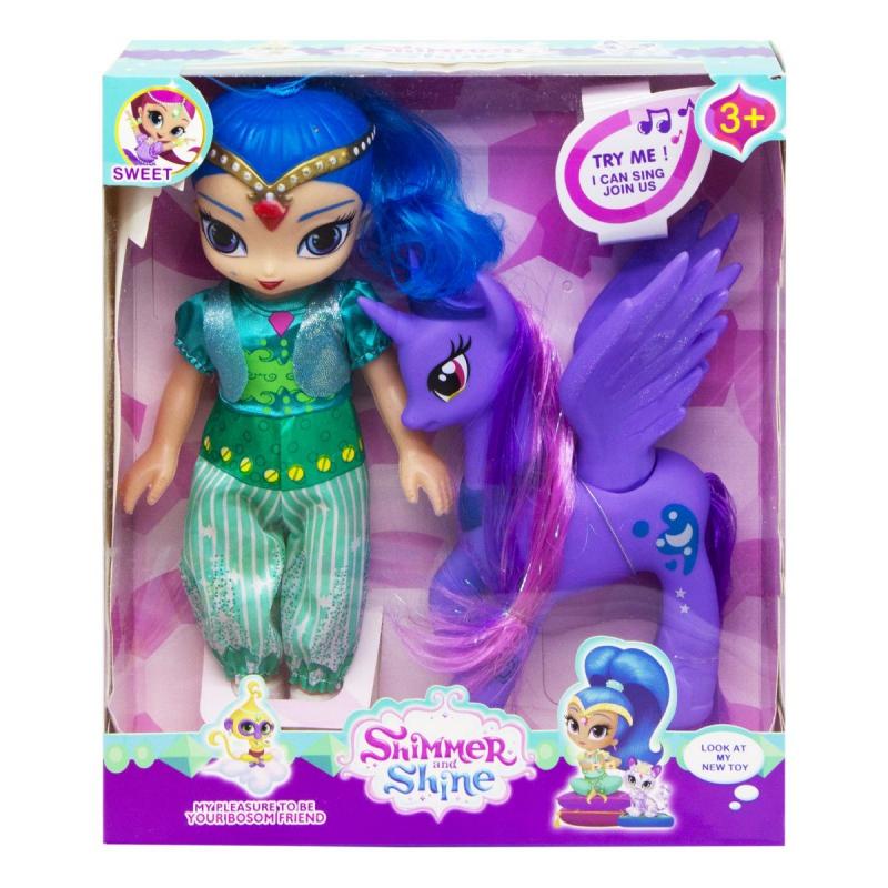 "Кукла ""SHIMMER  SHINE"" (Шайн) 9933E купить в магазине ""Пустун"""