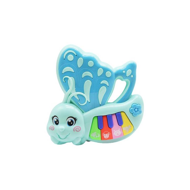 """Интерактивная игрушка """"Пианино. Бабочка"""", бирюзовый 8821-21B купить в магазине """"Пустун"""""""