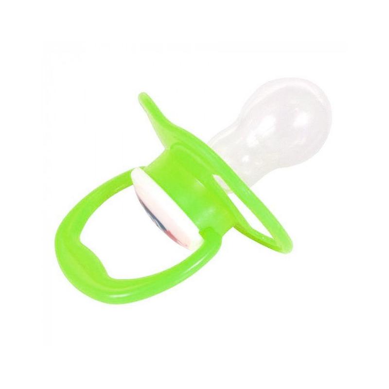 """Пустышка с кольцом, салатовая 1401 купить в магазине """"Пустун"""""""