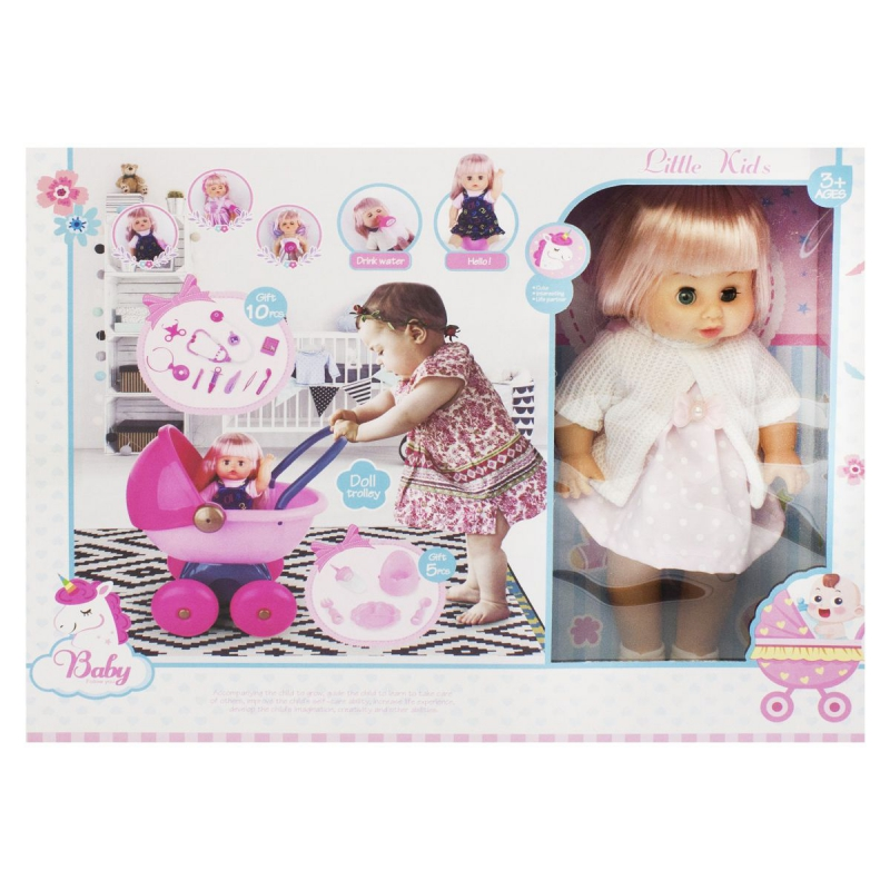 """Кукла-пупс """"Little Kids"""" AD12303-D/E купить в магазине """"Пустун"""""""