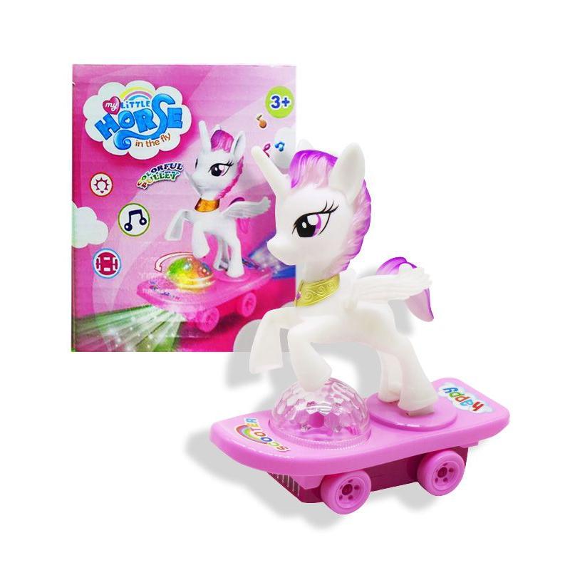 """Игрушка """"Пони на скейте"""" HC021-C купить в магазине """"Пустун"""""""
