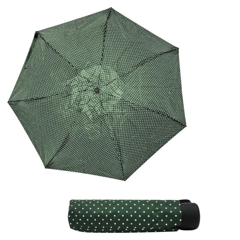 """Зонтик складной """"Горошек"""", зеленый 000270/0 купить в магазине """"Пустун"""""""