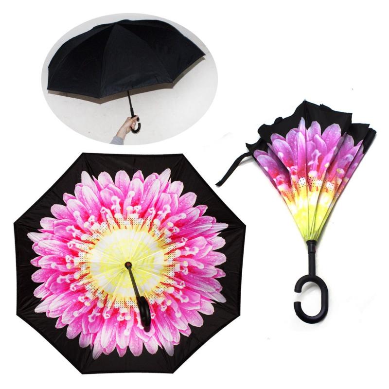 """Зонт наоборот """"Астра"""" 55502/0 купить в магазине """"Пустун"""""""