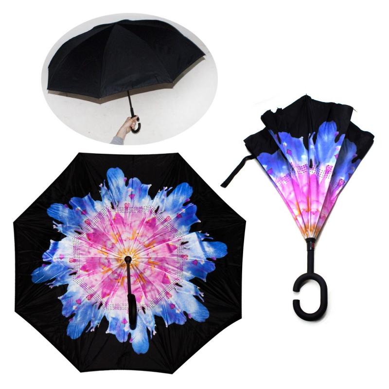 """Зонт наоборот """"Хризантема"""" 55502/0 купить в магазине """"Пустун"""""""