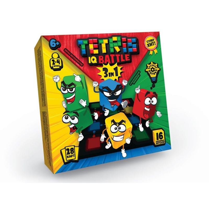 """Развивающая игра """"Tetris IQ battle 3in1"""", рус G-TIB-02 купить в магазине """"Пустун"""""""