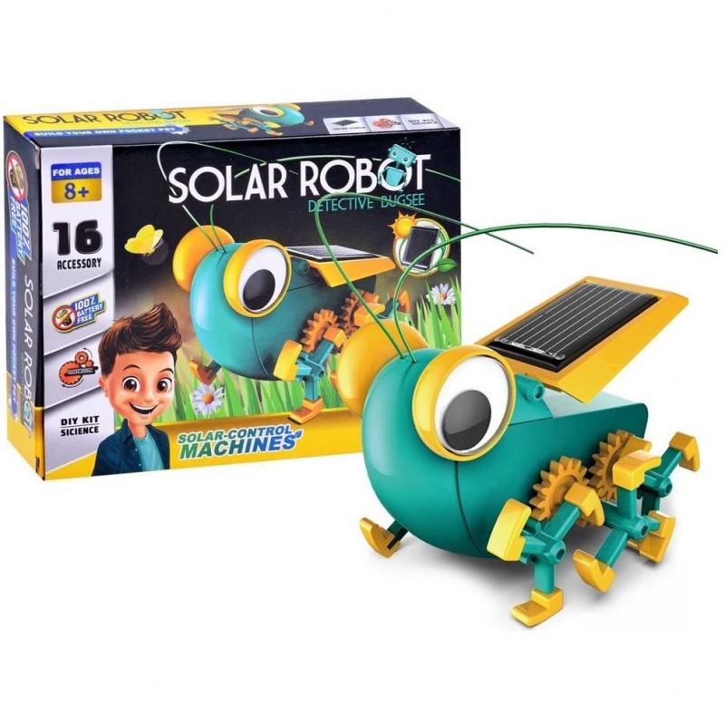 """Робот-конструктор """"Solar Robot"""" на солнечных батареях 1012 купить в магазине """"Пустун"""""""