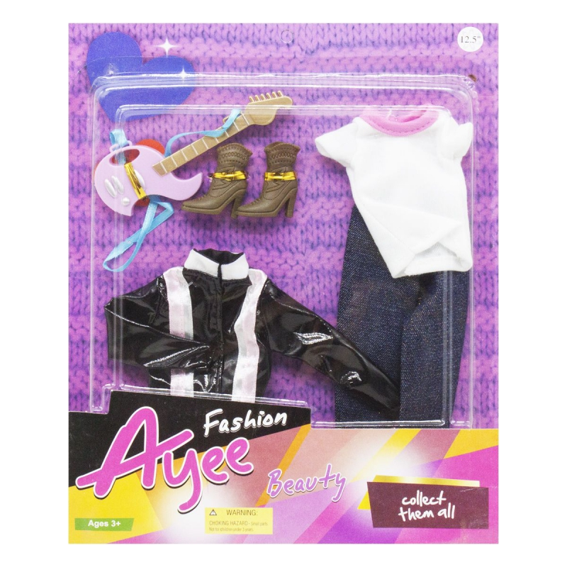 """Наряд для куклы, вид 4 YF001 купить в магазине """"Пустун"""""""
