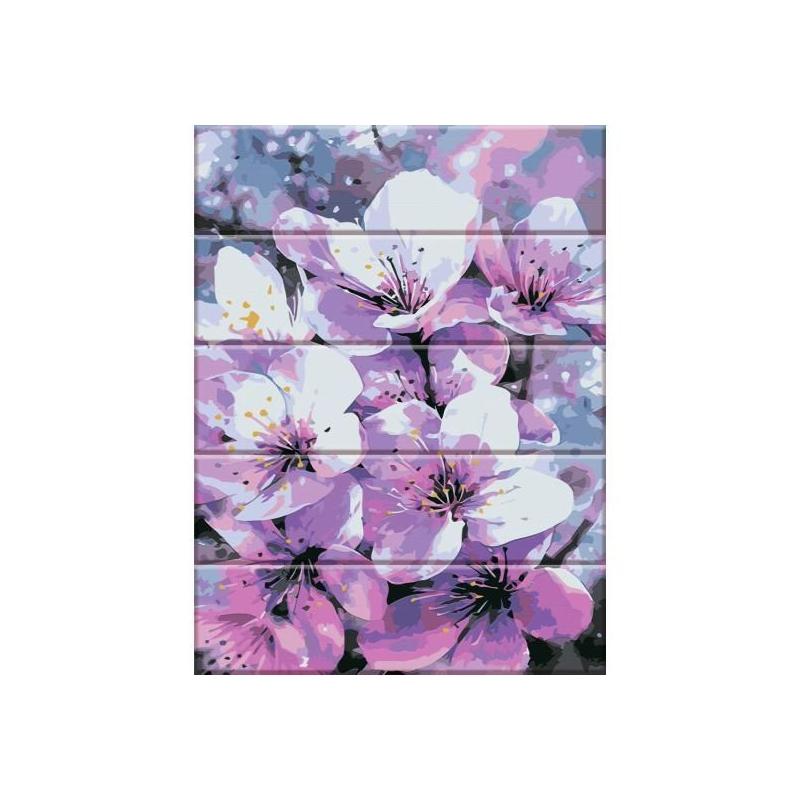 """Картина по номерам на дереве """"Первоцвет"""" ASW006 купить в магазине """"Пустун"""""""