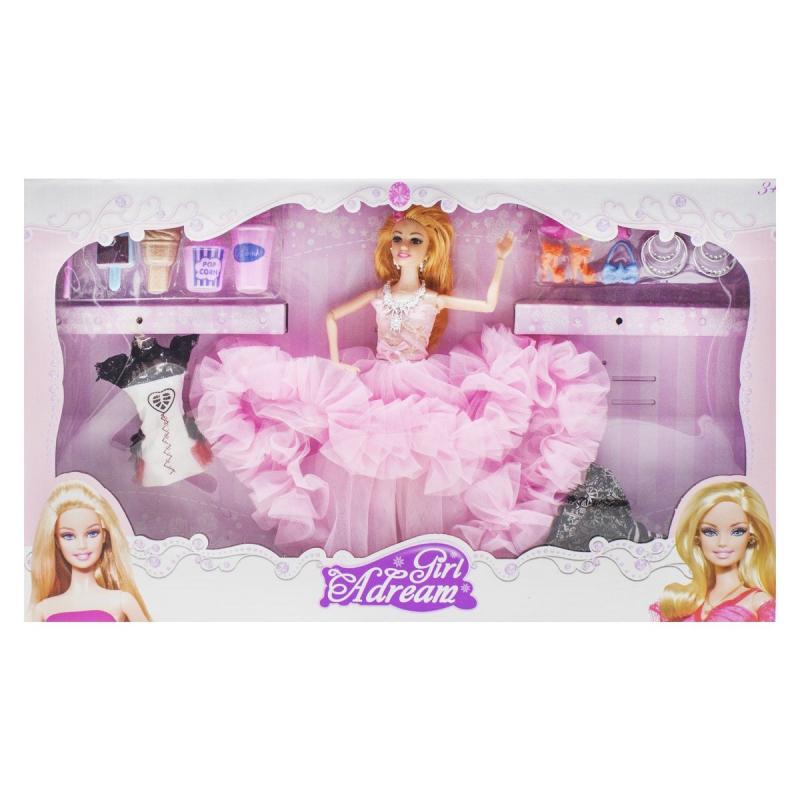 """Кукла """"Girl Adream"""", розовый 654A купить в магазине """"Пустун"""""""