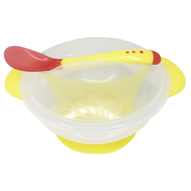 """Набор для кормления, прозрачный, желтый №0100 купить в магазине """"Пустун"""""""
