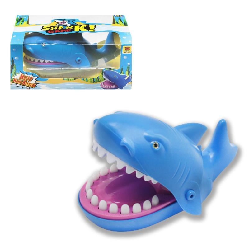 """Игра """"Акула-кусачка"""", синяя 9848 купить в магазине """"Пустун"""""""