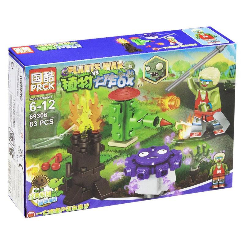 """Конструктор """"Plants vs Zombie"""", 83 дет 69306 купить в магазине """"Пустун"""""""
