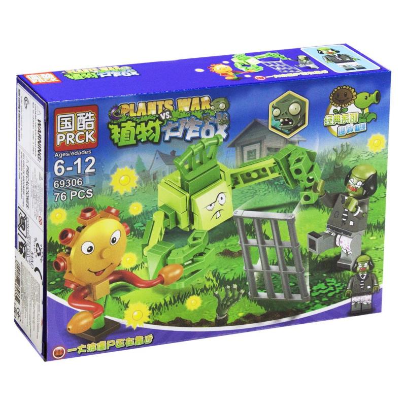 """Конструктор """"Plants vs Zombie"""", 76 дет 69306 купить в магазине """"Пустун"""""""