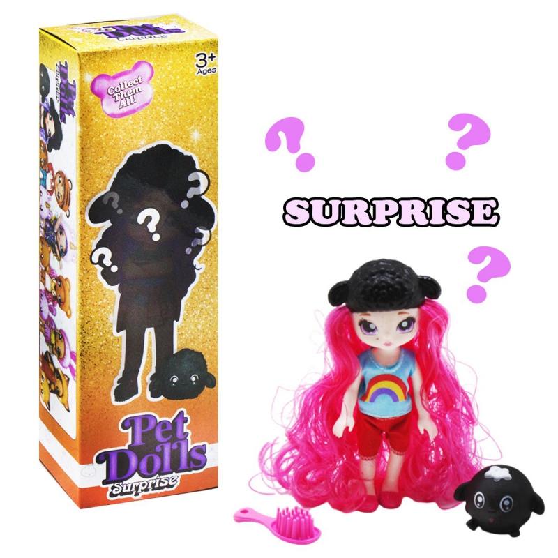 """Кукла """"Pet Dolls Surprise. Овечка"""" LK1133A купить в магазине """"Пустун"""""""