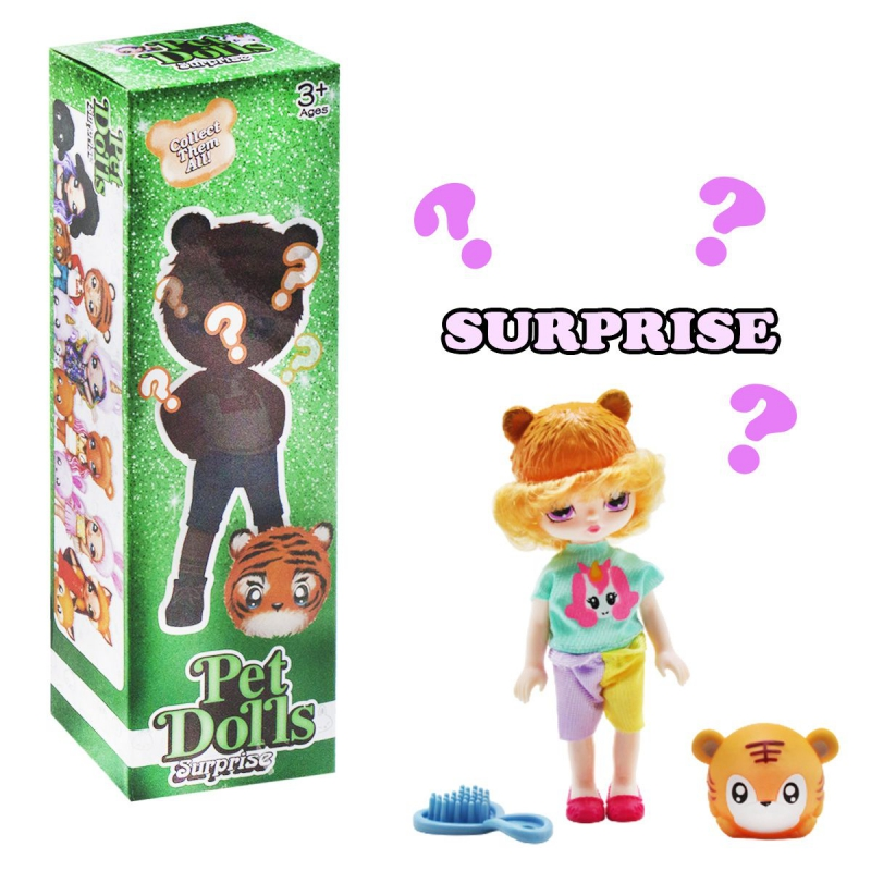 """Кукла """"Pet Dolls Surprise. Тигренок"""" LK1133A купить в магазине """"Пустун"""""""