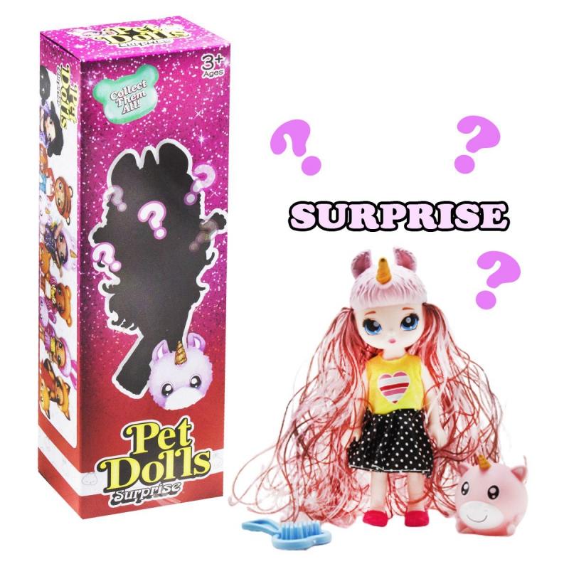 """Кукла """"Pet Dolls Surprise. Единорожек"""" LK1133A купить в магазине """"Пустун"""""""