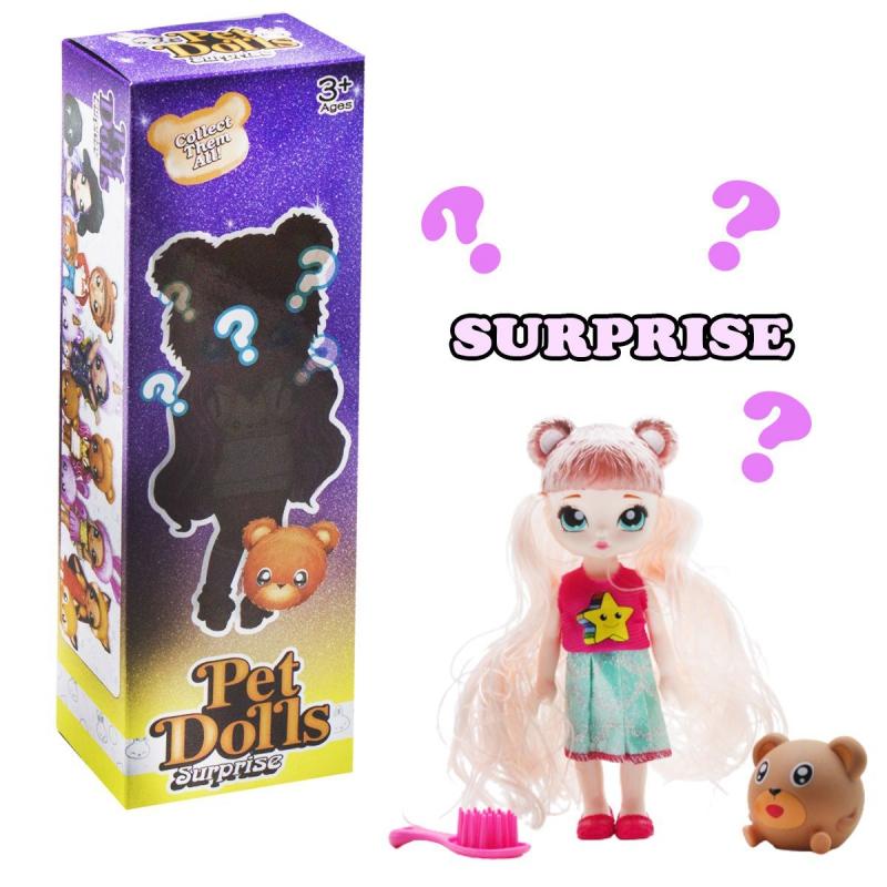 """Кукла """"Pet Dolls Surprise. Мишутка"""" LK1133A купить в магазине """"Пустун"""""""