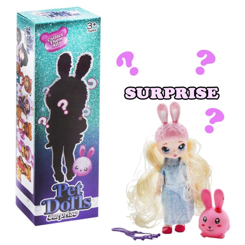 """Кукла """"Pet Dolls Surprise. Зайка"""" LK1133A купить в магазине """"Пустун"""""""
