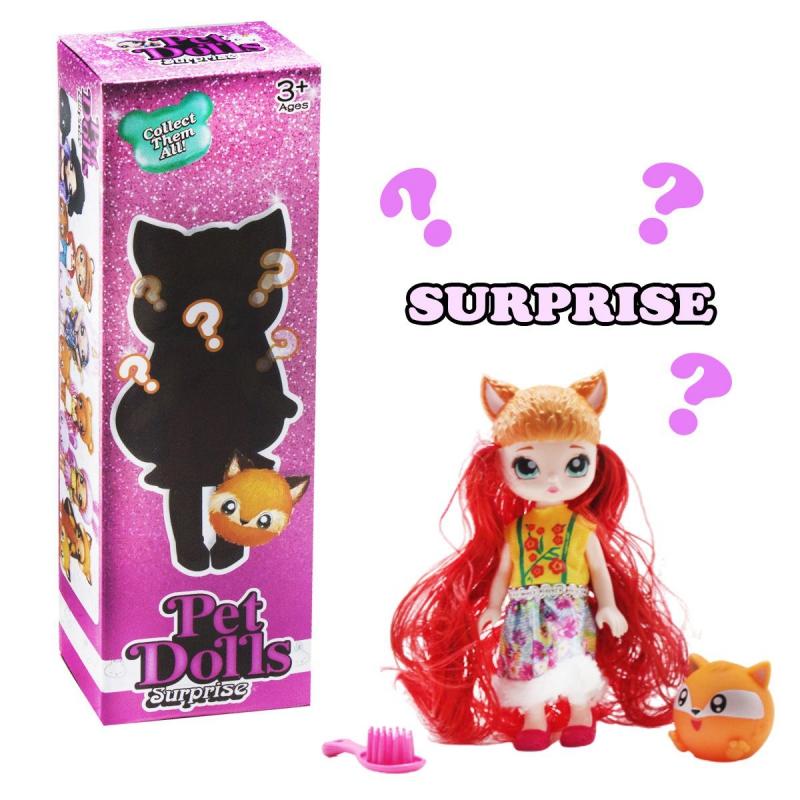 """Кукла """"Pet Dolls Surprise. Лисичка"""" LK1133A купить в магазине """"Пустун"""""""