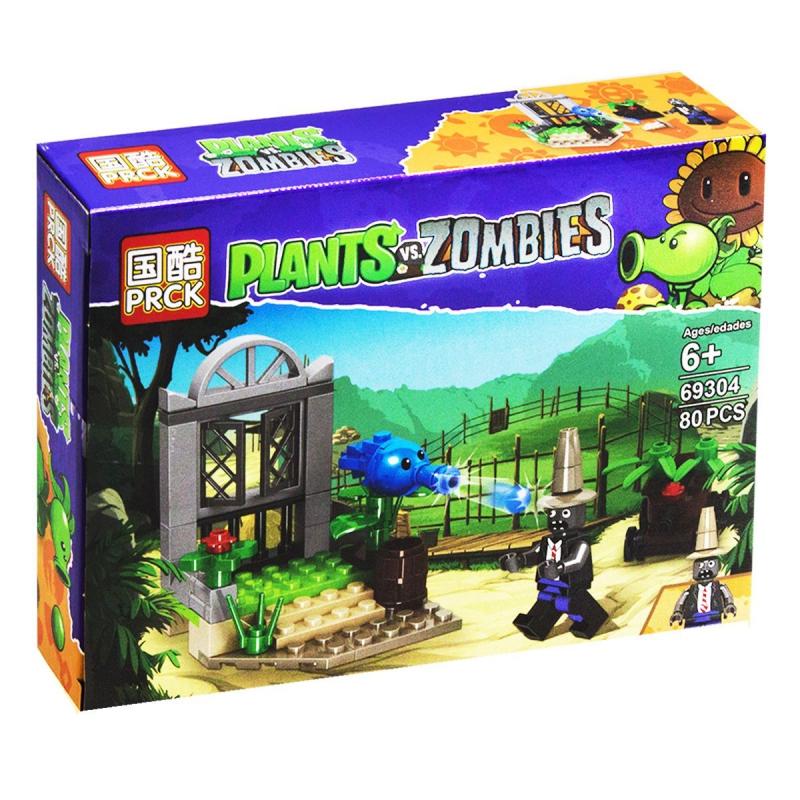 """Конструктор """"Plants vs Zombie"""", 80 дет 69304 купить в магазине """"Пустун"""""""