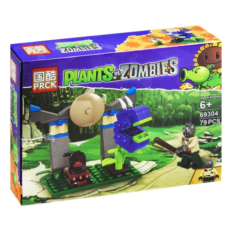 """Конструктор """"Plants vs Zombie"""", 79 дет 69304 купить в магазине """"Пустун"""""""