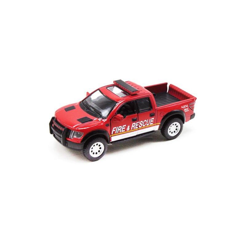 """Машинка KINSMART Ford F-150 SVT (пожарная) KT5365WPR купить в магазине """"Пустун"""""""