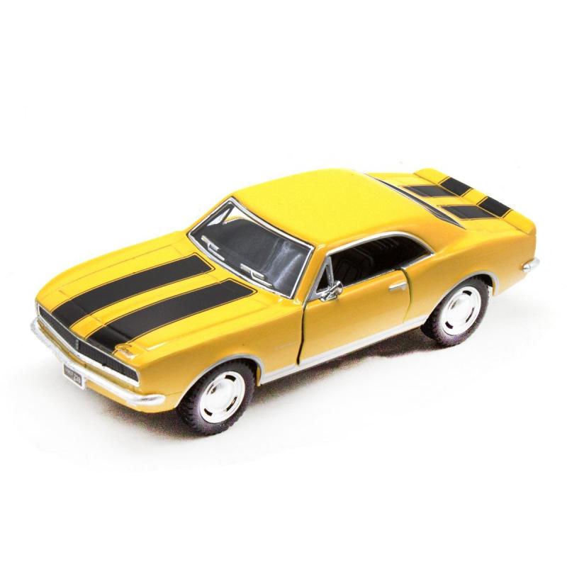 """Машинка KINSMART """"Chevrolet Camaro Z/28"""", желтый KT5341W купить в магазине """"Пустун"""""""