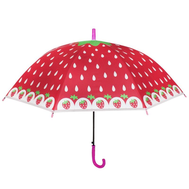 """Зонтик детский """"Фрукты"""", розовый BT-CU-0038 купить в магазине """"Пустун"""""""