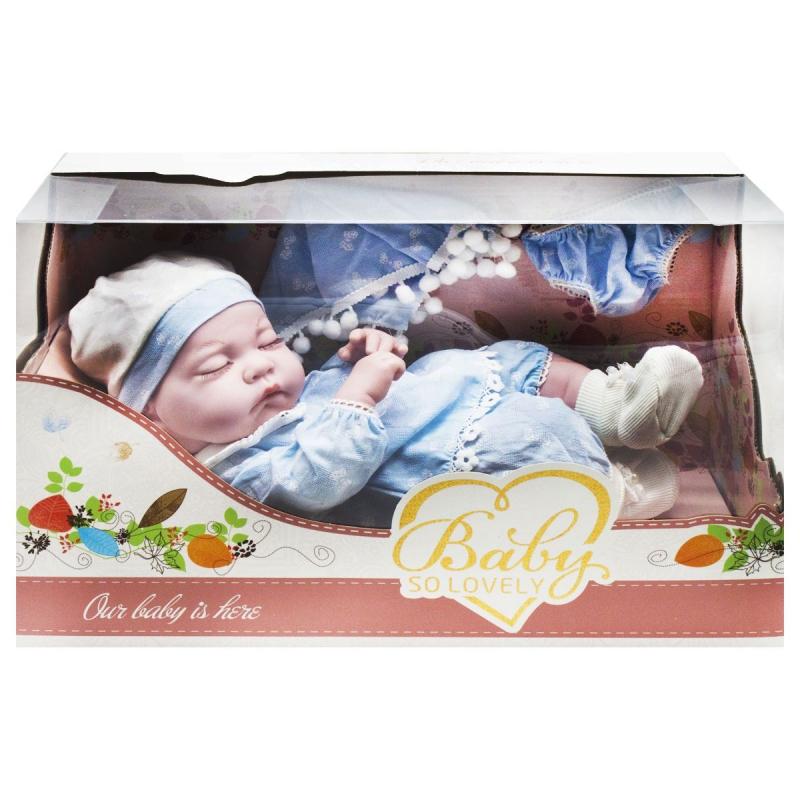 """Пупс """"Baby"""", 31 см, в голубом 1912-1/2/3 купить в магазине """"Пустун"""""""